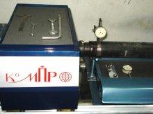 Прямо на стенде можно легко измерить радиальное биение вала при помощи цифрового индикатора