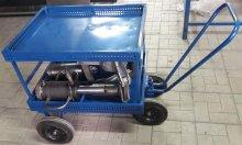 Двухуровневая технологическая тележка для перемещения муфты и оснастки по территории депо