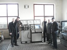 Специалисты фирмы удовлетворены работой стенда ИВЭВ 292-305 второго поколения в депо Мариуполь