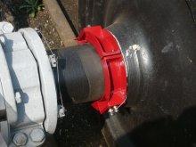 установка корректирующего груза на оси колесной пары